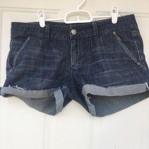 AEO Cut Off Denim Jean Shorts 12